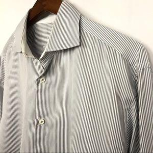"Bugatchi Mens Dress Shirt Size 18"" Neck 32/33"